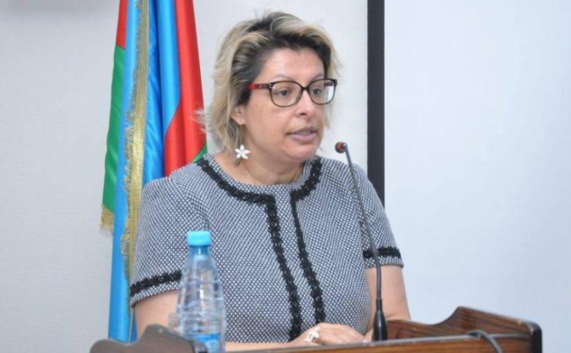 Intervenção de Teresa Damásio em destaque no Azerbaijão