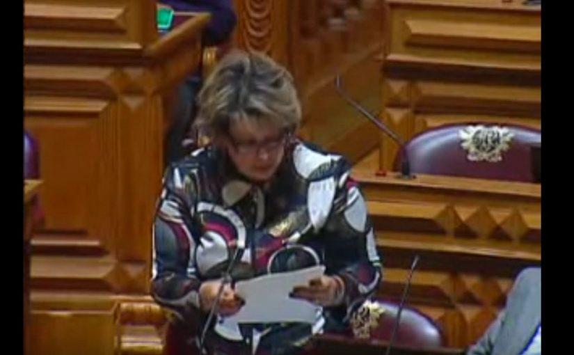 Intervenção na Assembleia da República de 17-03-2010
