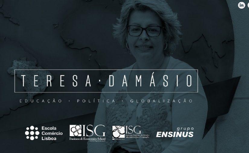 Bem-vindo ao site de Teresa Damásio