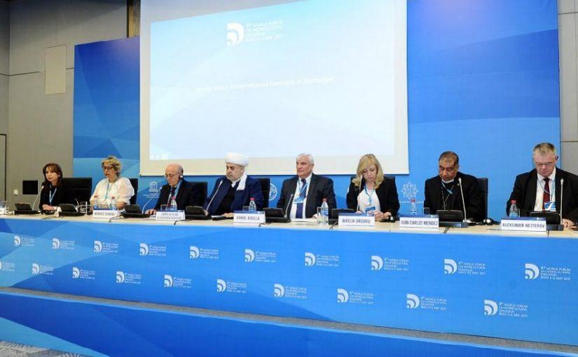 4º Fórum Mundial do Diálogo Intercultural promove sessão plenária no Azerbaijão