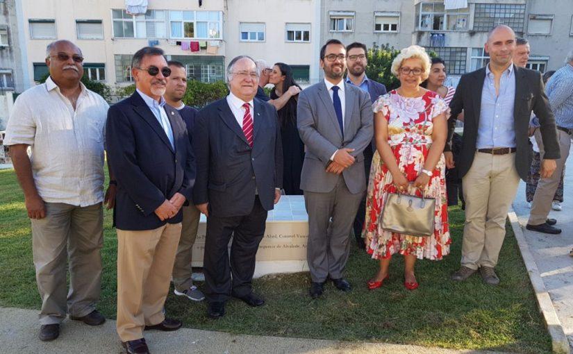 Inauguração do Jardim dos Cravos