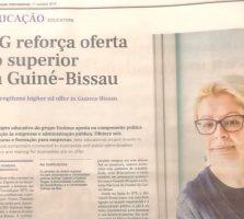 ISG reforça oferta do superior na Guiné-Bissau